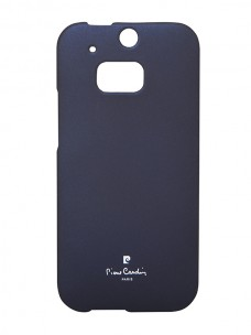 Pierre Cardin silk cover navy blue for HTC M8