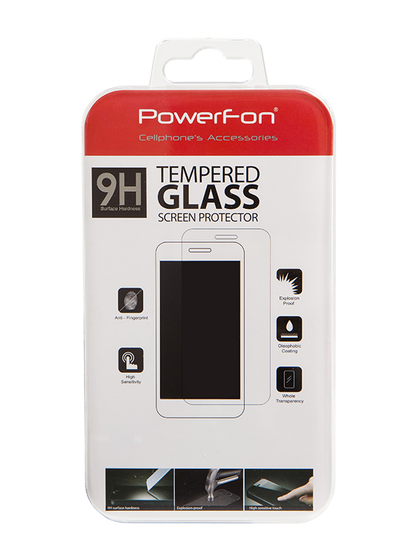 Powerfon Tempered Glass Screen Protector (front)